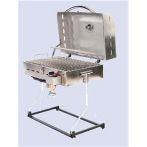 Faulkner FLK-52302 Barbecue Deluxe Gas Grills Stainless Steel