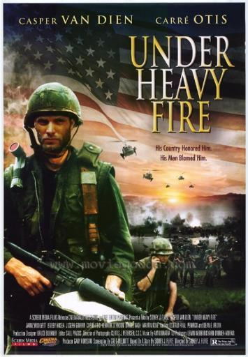 Under Heavy Fire Movie Poster Print (27 x 40) QQPUVSYSYMICF2BR