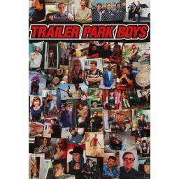 Trailer Park Boys Poster Collage Ricky Julian Bubbles Lahey Randy Sunnyvale