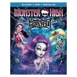 Monster high-haunted (blu ray/dvd w/digital hd) BR63153074
