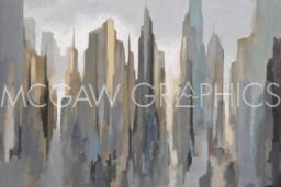 Midtown Skyline Poster Print by Gregory Lang (36 x 24)