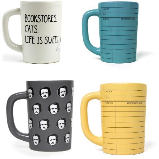 MUGS Out of Print Composition Notebook 12oz Ceramic Coffee Mug