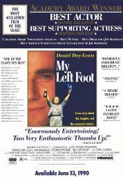 My Left Foot Movie Poster (11 x 17) MOV252265