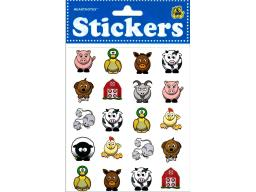 Hrt19129 heartnotes sticker farm animals