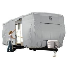 Classic Rv Covers & Accessories 80-138-181001-00 Perp Travel Trailer Grey-Mdl 5-1Cs