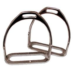 Coronet 238329 5.25 in. Prussian Polo Stirrup Irons