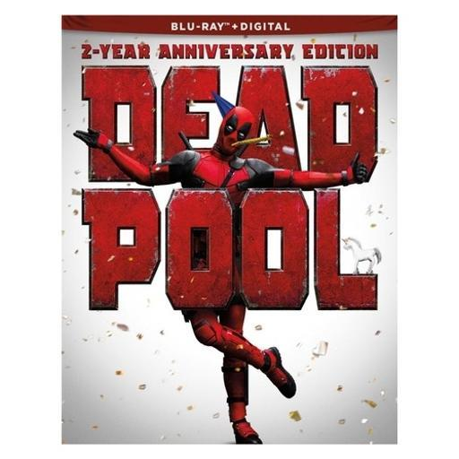 Deadpool 2-year anniversary edition (blu-ray/paper doll/stickers/tattoos) S9NUPS9MOMAJOZHD