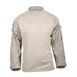 Rothco 90030 Desert Sand Military Combat Shirt 90030