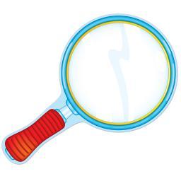 Carson dellosa magnifying glass accents 120094