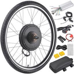 "26""x1.75"" Rear Wheel 48V 1000W Electric Bicycle Motor Kit E-Bike Cycling Hub Conversion Dual Mode Controller"