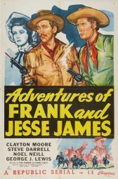 American Bandits: Frank and Jesse James Movie Poster Print (27 x 40) MOVCB38833