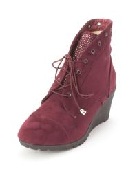 Beacon Womens tessa Suede Closed Toe Ankle Fashion Boots