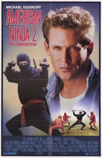 American Ninja 2 Confrontation Movie Poster (11 x 17) U46G4DXQE8W97L0S