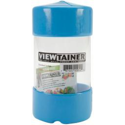 "Viewtainer Slit Top Storage Container 2.75""X5"" Sky Blue"