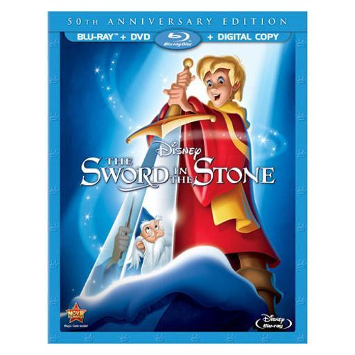 Sword in the stone-50th anniversary edition (blu-ray/dvd/dc) BOY5RCVVSUCWMCOW