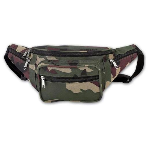 Extreme Pak LUCAMWB Extreme Pak Invisible Pattern Camo Water Repellent Waist Bag