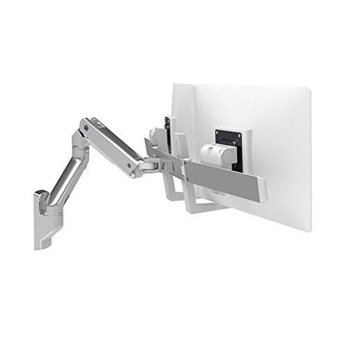 ERGOTRON 45-479-026 HX WALL DUAL MONITOR ARM POLISHED ALUMINUM
