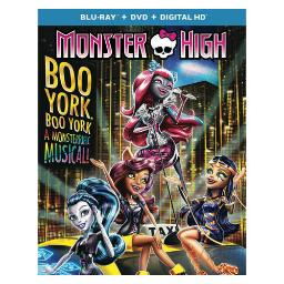 Monster high-boo york boo york (blu ray/dvd combo w/digital hd/ultraviolet) BR63166635