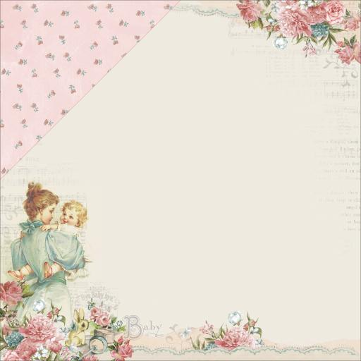 "Peek-A-Boo Double-Sided Cardstock 12""X12""-Infant DZ51MK8DNXET85TO"