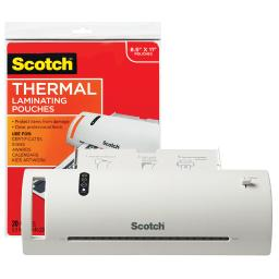Scotch scotch thermal laminator combo pack tl902vp