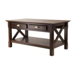 Winsome 40538 Xola Coffee Table with Two Drawers