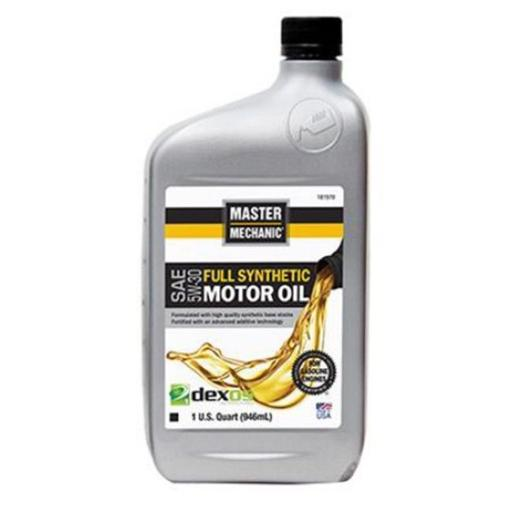 CITGO Petroleum 181970 1 qt Master Mechanic 5W30 Synthetic Motor Oil API Classification