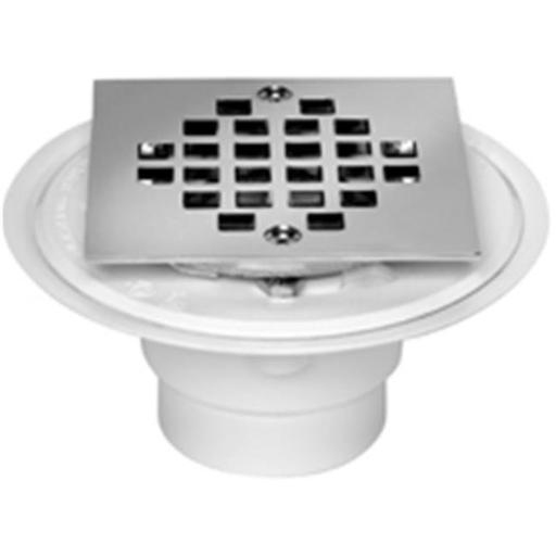 42237 Shower Drain Pvc With Strainer