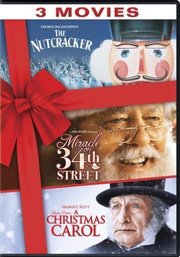 Nutcracker/miracle on 34th street/christmas carol (dvd/tfe) IR0INCU8VOTGQ8RV