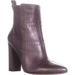 Vince Camuto Basila Studded Ankle Boots, Vintage Claret Basila