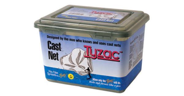 Betts tackle betts tyzac cast net 3/8 4′ boxed m4-i