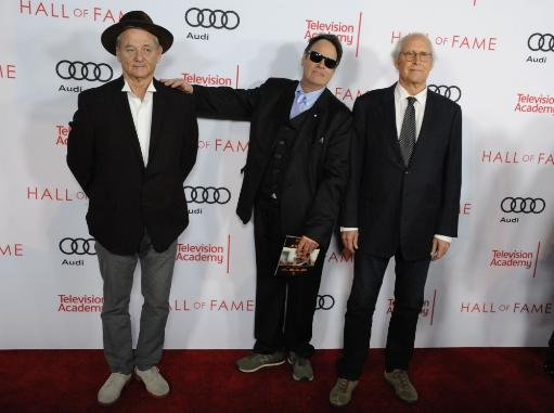 Bill Murray, Dan Aykroyd, Chevy Chase At Arrivals For Television Academy 24Th Hall Of Fame Ceremony, Television Academy'S Saban Media Center.