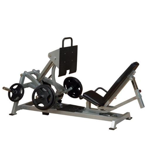Body Solid LVLP Leverage Horizontal Leg Press Exercise Machine
