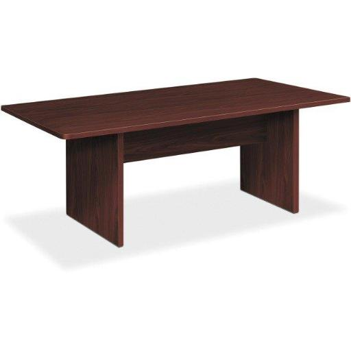The HON HONLMC72RN 72 in. Foundation Rectangular Conference Table, Mahogany