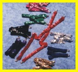 Suspenders -sequin