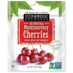 Stoneridge Orchards Dried Fruit All Natural Montmorency Cherries