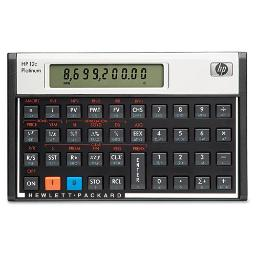 12C Platinum Financial Calculator 10-Digit LCD | Total Quantity: 1