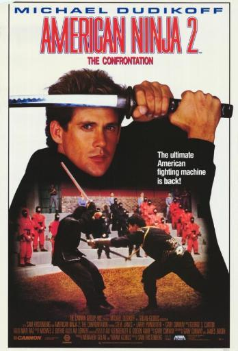 American Ninja 2: The Confrontation Movie Poster Print (27 x 40) UKPMVXWOFHERJB38