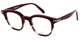 Celine Erin CL 41422 T6Y Oplburghavabeig Plastic Square Eyeglasses 46mm