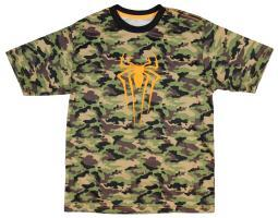 Marvel Boys' The Amazing Spider-Man Camo T-Shirt