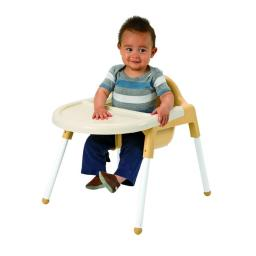 Angeles AFB7940 Feeding Chair, Caramel & Cream
