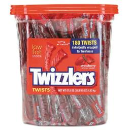 Twizzlers 884064 5.75 oz. Strawberry Twizzlers Licorice, Individually Wrapped