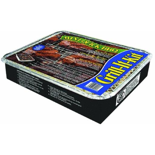 Kay Home Products 30157 12.25 in. x 10 in. Mini-Quick Grill