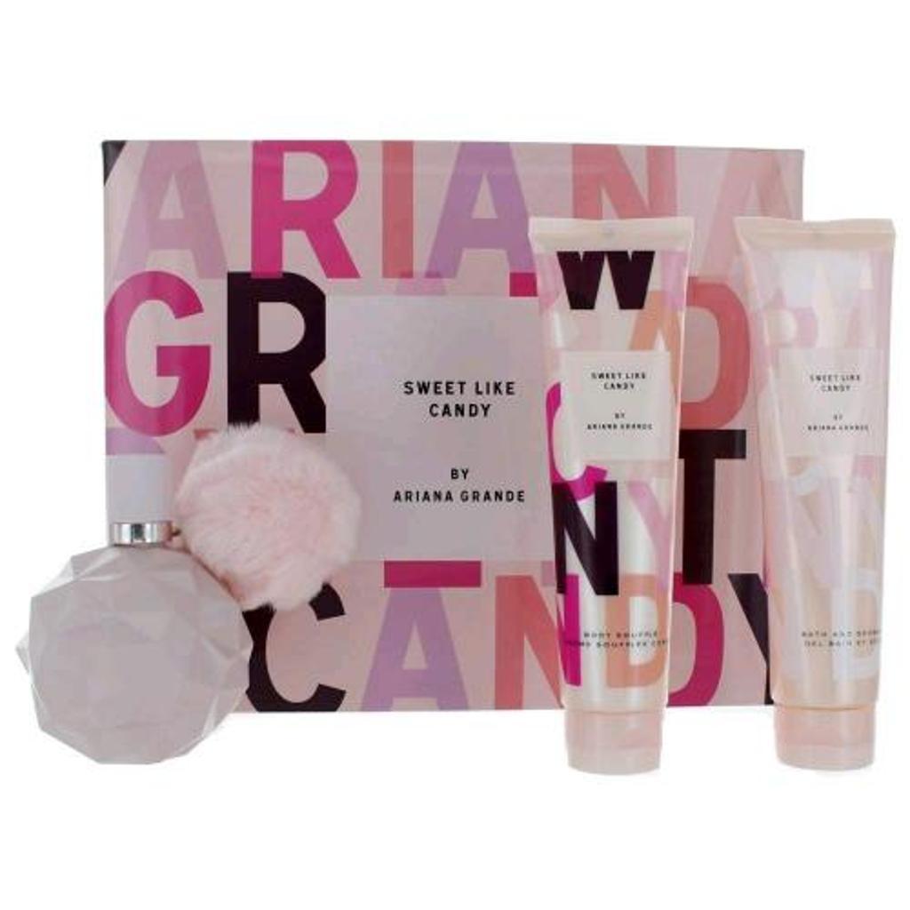 Ari Sweet Like Candy By Ariana Grande 3 Pcs Set: 3.4 Edp Sp