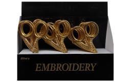 6362 allary stork embroidery scissor pop gold 18pc