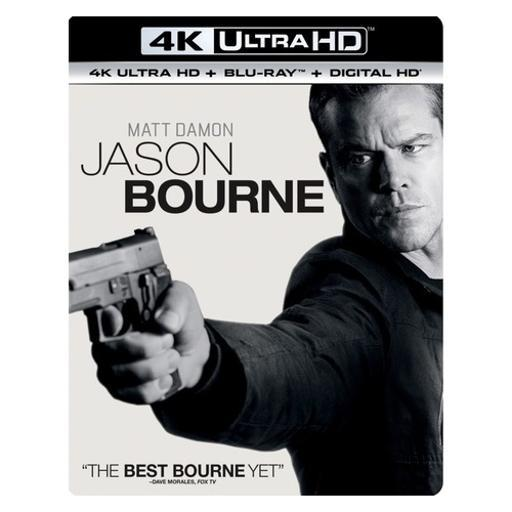 Jason bourne (blu ray/4kuhd/ultraviolet/digital hd) 1289337