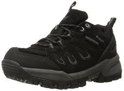 Propet Women's Ridgewalker Low Boot, Black, 9.5 M US