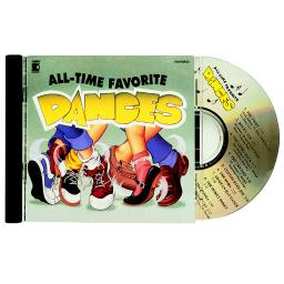 Kimbo educational all-time favorite dances cd 9126cd