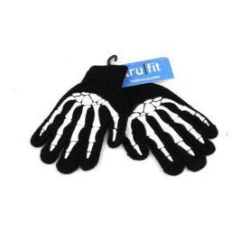 2Moda 1875278 08 Kids Skeleton Design Gloves - Case of 48