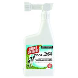 Simple Solution 13260 White Simple Solution Yard Odor Away Hose Spray Concentrate 32Oz White 2.25 X 5.25 X 11.5