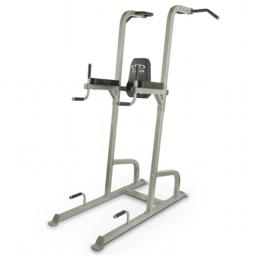 Valor Fitness CA-16 Vertical Knee Raise Tower, Silver